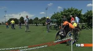 Golf per la vita al tg5
